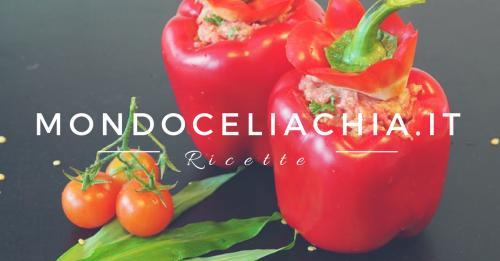 Peperoni mediterranei al forno senza glutine -