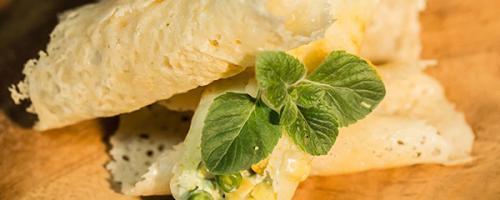 Cannelloni Croccanti di Grana alla Ricotta senza glutine -