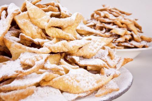 Chiacchiere di carnevale senza glutine -